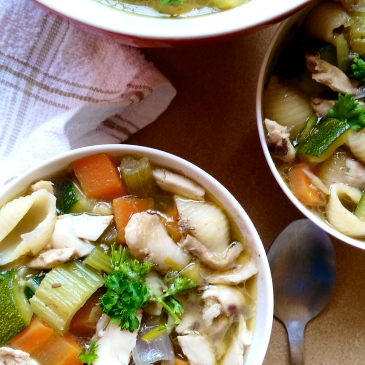 Chicken noodle soup + the kenyan fitness foodie